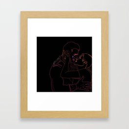 he's got to be crazy Framed Art Print