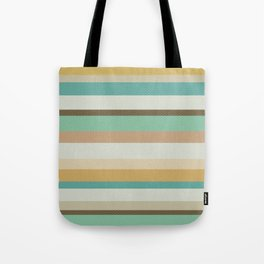Victorian Stripes Tote Bag