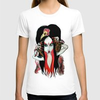 devil T-shirts featuring Devil by Miss Midnight