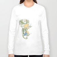 charlie Long Sleeve T-shirts featuring Charlie by Rachel Isaacs