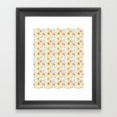 Splatter Fun Framed Art Print
