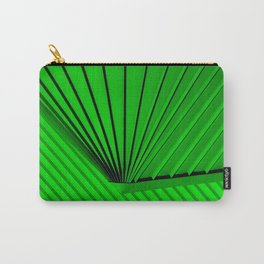 Lime Lines Study Carry-All Pouch