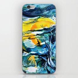 WinterFullMoon iPhone Skin