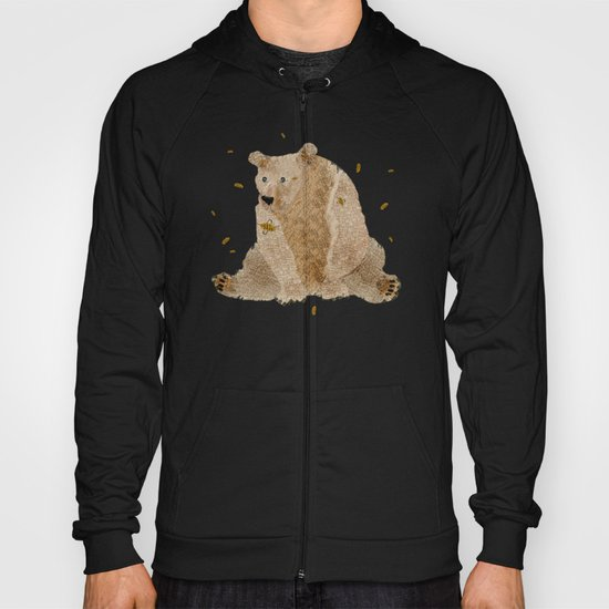 bear grizzly  Hoody