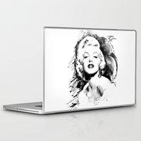 monroe Laptop & iPad Skins featuring Monroe by Ron Jones The Artist