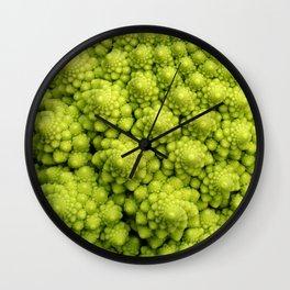 Brassica Fractal Wall Clock