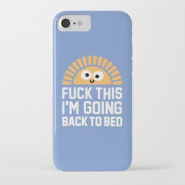 Moment In the Sun iPhone Case