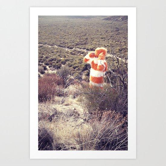 Searching Art Print