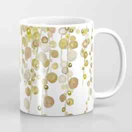 golden string of pearls watercolor 2 Coffee Mug