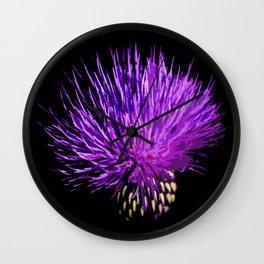 Cirsium Wall Clock