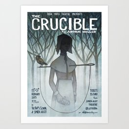 The Crucible Art Print