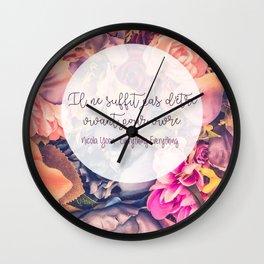 Everything Everything . NICOLA YOON Wall Clock