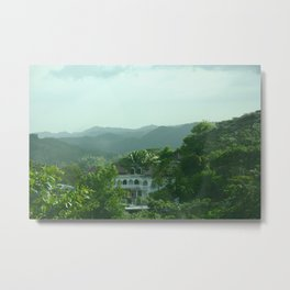 Mountain Overlook Metal Print
