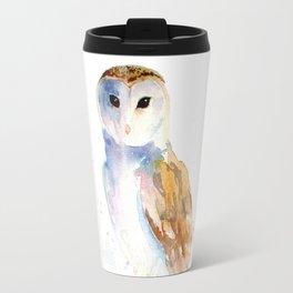 Evening Barn Owl Travel Mug