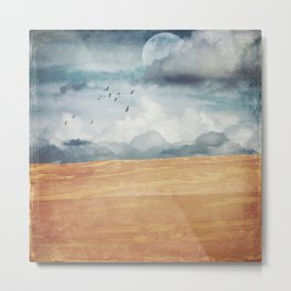 Where Land Meets Sky Metal Print
