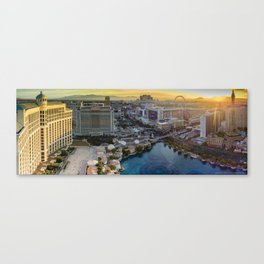 Las Vegas Strip from a higher perspective! Canvas Print