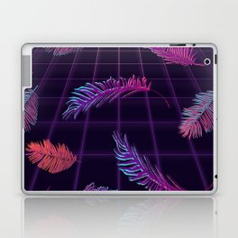 Synthwave Palm Leaves Laptop & iPad Skin