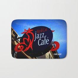 Red Cat Jazz Bath Mat