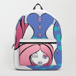 Zombie Mermaid Backpack