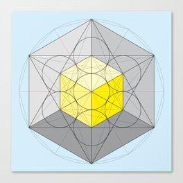 Metatron's Cube Var. 1 Canvas Print