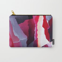 Uncut ruby texture Carry-All Pouch