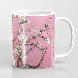 Vincent van Gogh Blossoming Almond Tree (Almond Blossoms) Pink Sky Coffee Mug