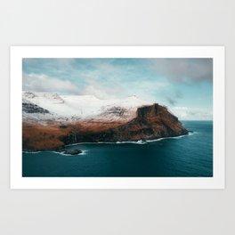 Faroe Islands Epic Landscape Art Print