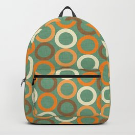 Earth Mod Abstract Hallow  Backpack