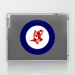 Silvereye Air Force Roundel Laptop & iPad Skin