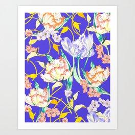 Tullips Art Print