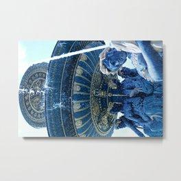 Fontaines de la Concorde 3 Metal Print
