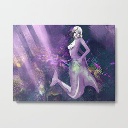Look at my shiny dolphin butt Metal Print