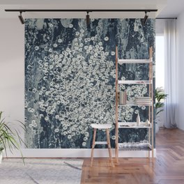 Silver sequins Wall Mural