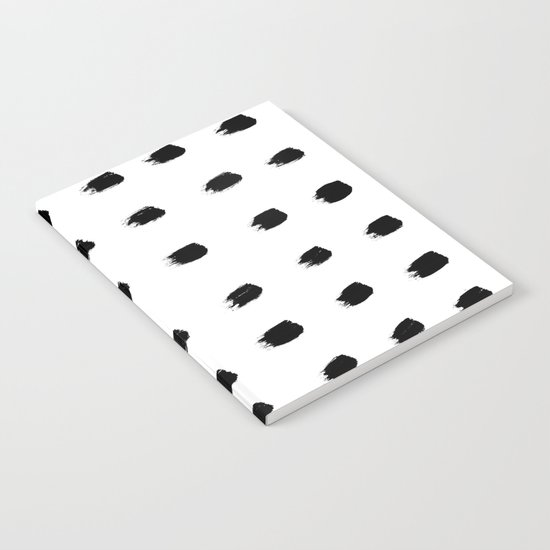 Jacques Pattern - Pure White Notebook