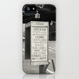 Cancel Rent series -I-  iPhone Case