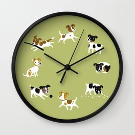 Farmdogs are wonderful things Wall Clock