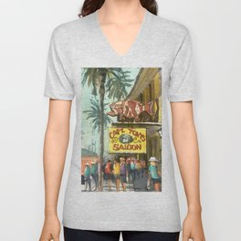 Captain Tony's, Key West Unisex V-Neck