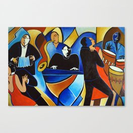 Pianist Canvas Print