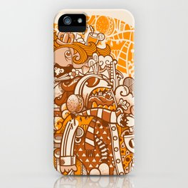 Ginger Monsterous iPhone Case