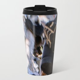 Hanging in the Shoe tree on Hwy 395 Travel Mug
