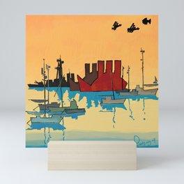 Safe bay Mini Art Print