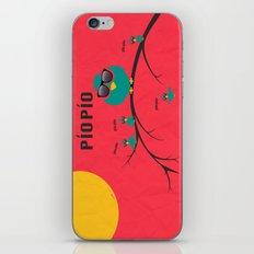 pío pío, PÍO PÍO iPhone & iPod Skin