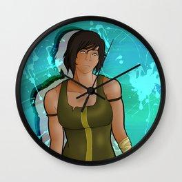 Korra - Heart of Steel Wall Clock