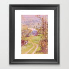 Memories of the Farm Framed Art Print