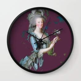 marie antoinette tribute  Wall Clock