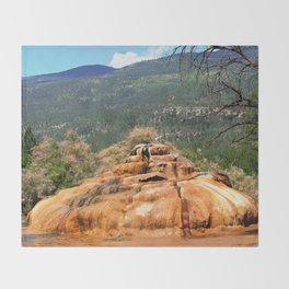 Pinkerton Mineral Springs Throw Blanket