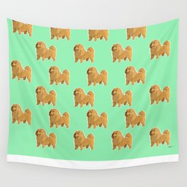 Chow Chow Wall Tapestry
