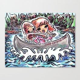 A Dream Of Jason Canvas Print