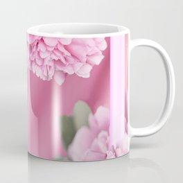 Pink Peonies In Frame #decor #society6 #buyart Coffee Mug