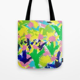 Impressionistic Daisies in the Garden Tote Bag